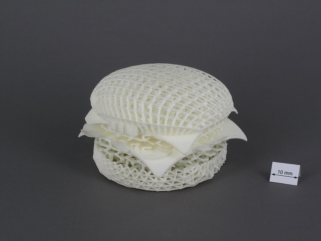 3D printing - burger